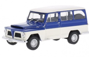 Miniatura Ford Rural Willys 1968 1/43 Whitebox