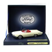 Miniatura Ford Thunderbird Sport Roadster 1962 Branco Lotus 1/43 Motor Head