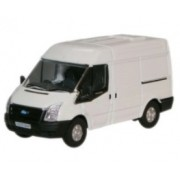 Miniatura Ford Transit White 1/76 Oxford