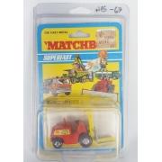 Miniatura Fork Lift Truck Nº15 Anos 70 1/64 Matchbox