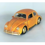 Miniatura Fusca Bumblebee Transformers 6 Sem Caixa 1/24 Jada Toys