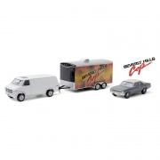 Miniatura GMC 1983 & Chevrolet Nova 1970 Hitch & Tow 1/64 Greenlight