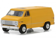 Miniatura GMC Vandura 1972 Blue Collar Serie 4 1/64 Greenlight