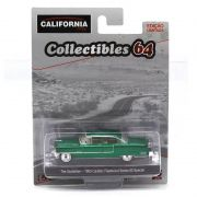 Miniatura GREEN MACHINE Cadillac Fleetwood Series O Poderoso Chefão 1/64 California Collectibles