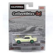 Miniatura GREEN MACHINE Ford Mustang Coupe 1967 The Walking Dead 1/64 California Collectibles