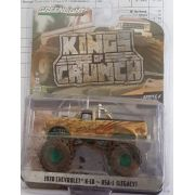 Miniatura Greenmachine Chevrolet K10 1970 Monster Truck USA 1 Kings of Crunch 1/64 Greenlight