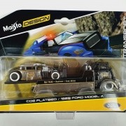 Miniatura Guincho Ford Coe & Ford Model A 1929 Elite Transport 1/64 Maisto