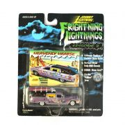 Miniatura Heavenly Hearse Frightning Lightnings 1/64 Johnny Lightning