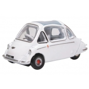 Miniatura Heinkel Trojan White 1/76 Oxford