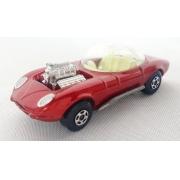 Miniatura Hot Rod Draguar N°36  Superfast Lesney 1/64 Matchbox