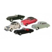 Miniatura Jaguar Collection 5 Pieces 1/76 Oxford