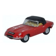 Miniatura Jaguar E Type DHC Closed Car 1/76 Oxford