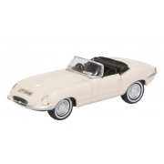 Miniatura Jaguar E Type White 1/76 Oxford