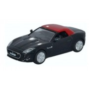 Miniatura Jaguar F Type Ultimate Black 1/76 Oxford
