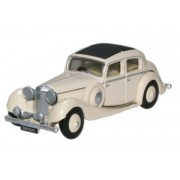Miniatura Jaguar SS 2.5 Saloon Cream 1/76 Oxford