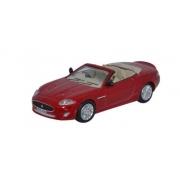 Miniatura Jaguar XK Convertible Red 1/76 Oxford