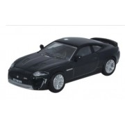 Miniatura Jaguar XKR-S Coupe Ultimate Black 1/76 Oxford