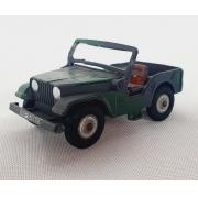 Miniatura Jeep 1/64 Husky Década de 60