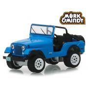 Miniatura Jeep CJ-5 1972 Mork & Mindy 1/64 Greenlight
