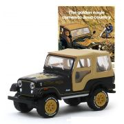 Miniatura Jeep CJ-5 Golden Eagle 1977 Vintage Cars 1/64 Greenlight