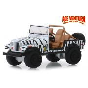 Miniatura Jeep CJ-7 1976 Ace Ventura 1/64 Greenlight