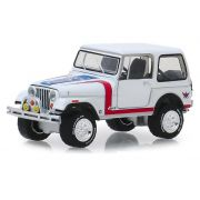 Miniatura Jeep CJ-7 1981 Barret Jackson 1/64 Greenlight