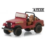 Miniatura Jeep CJ-7 Esquadrão Classe A 1/64 Greenlight