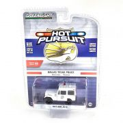 Miniatura Jeep DJ5 1977 Policia Hot Pursuit Serie 29 1/64 Greenlight