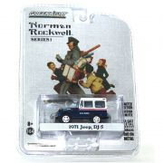 Miniatura Jeep DJ-5 1971 Norman Rockwell 1/64 Greenlight