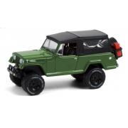 Miniatura Jeep Jeepster Commando 1968 1/64 Greenlight
