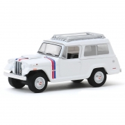 Miniatura Jeep Jeepster Commando 1971 Hurst Edition 1/64 Greenlight