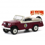 Miniatura Jeep Jeepster Convertible 1967 Ace Ventura  1/64 Greenlight