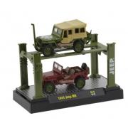 Miniatura Jeep MB 1944 Elevador 1/64 M2