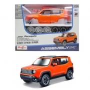 Miniatura Jeep Renegade Kit Em Metal 1/24 Maisto