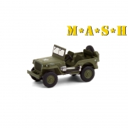 Miniatura Jeep Willys 1942 Mash 1/64 Greenlight