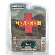 Miniatura Jeep Willys 1942 Mash Greenmachine 1/64 Greenlight
