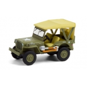 Miniatura Jeep Willys MB 1940 Anniversary Collection 1/64 Greenlight