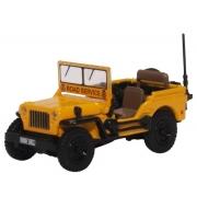 Miniatura Jeep Willys MB AA Road Service 1/76 Oxford