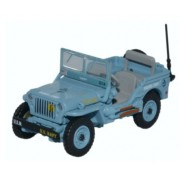 Miniatura Jeep Willys MB Royal US Navy Seabees 1/76 Oxford