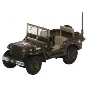 Miniatura Jeep Willys MB US Army 1/76 Oxford
