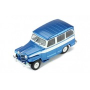 Miniatura Jeep Willys Rural 1960 1/43 Ixo