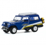 Miniatura Jeepster Commando 1967 Off Road Goodyear Racing 1/64 Greenlight