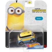 Miniatura Kevin Minions Character Cars 1/64 Hot Wheels