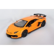 Miniatura Lamborghini Aventador SVJ Luz e Som 1/32 California Action