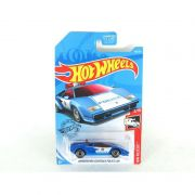 Miniatura Lamborghini Countach Police Car 1/64 Hot Wheels