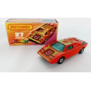 Miniatura Lamborghini Countach Streakers N°27 Superfast 1/64 Matchbox