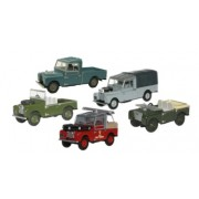 Miniatura Land Rover 5 Piece Set Modelzone 1/76 Oxford