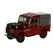 Miniatura Land Rover 88 Bombeiro 1/76 Oxford
