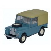 Miniatura Land Rover 88 Canvas Blue 1/76 Oxford