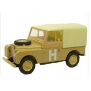 Miniatura Land Rover 88 Military 1/76 Oxford